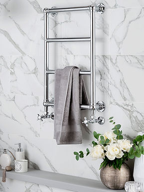 The Vintage Wall Mounted Towel Rail Brass Construction | Vogue UK