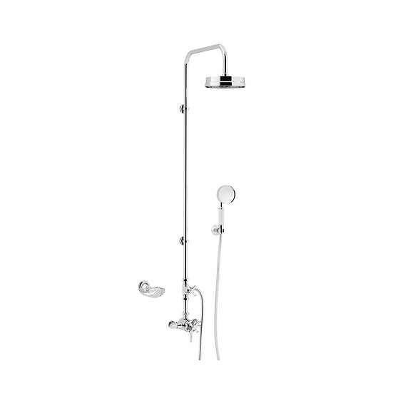 Somersby Exposed Shower Valve with Fixed Riser Kit & Diverter to Handset