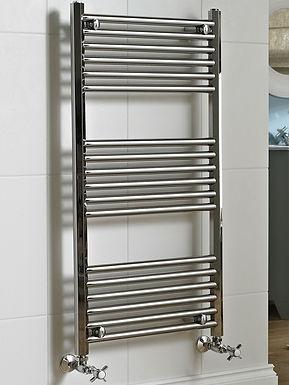The Art Moderne II Wall Mounted Towel Rail Brass Construction | Vogue UK