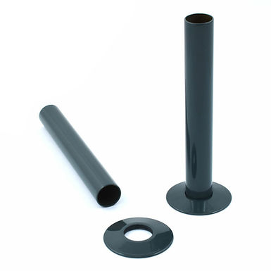 Anthracite Pipe Shrouds | West