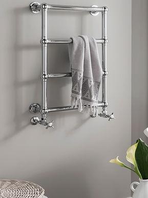 Ballerina Wall Mounted Heated Towel Rail | Vogue UK