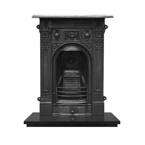 Victorian Small Cast Iron Combination Fireplace | Carron