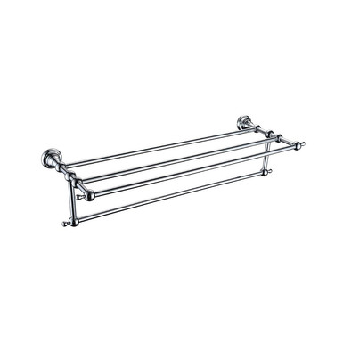 Holborn Double Bathroom Towel Shelf | Heritage