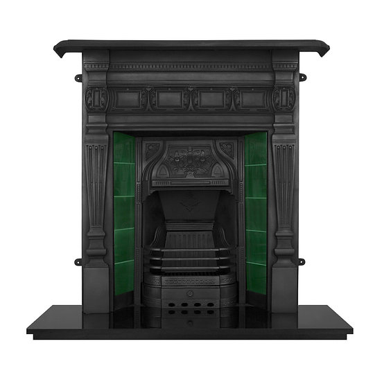 Lambourn Cast Iron Combination Fireplace | Carron