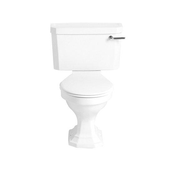 Granley Deco Close Coupled WC & Landscape Cistern | Heritage