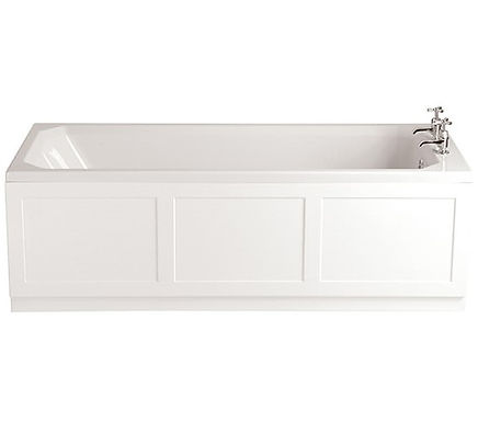 Granley Deco Acrylic Single Ended Fitted Bath | Heritage