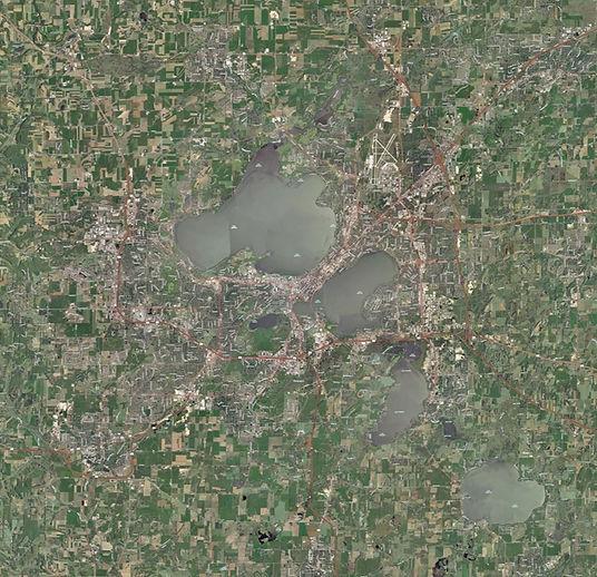 Madison Metro Aerial View