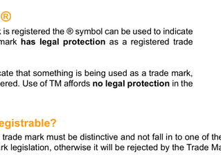 To trademark or not to trademark?