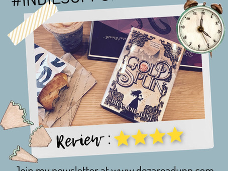 ✏️ #INDIESUPPORTSEPTEMBER Review for Gold Spun ✏️