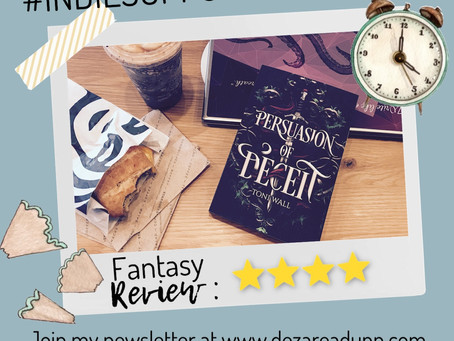 ✏️ #INDIESUPPORTSEPTEMBER Review for Persuasion of Deceit ✏️