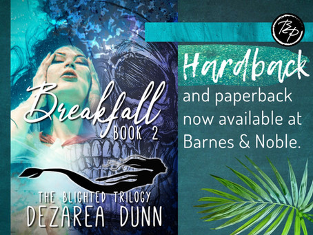 📚Breakfall: The Blighted Trilogy Now Available in Hardback📚