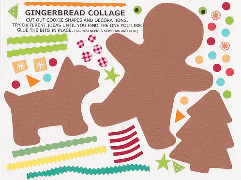Gingerbread Collage