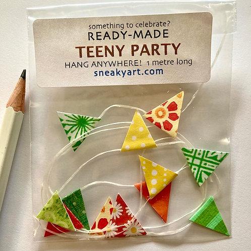 Teeny Party Garland