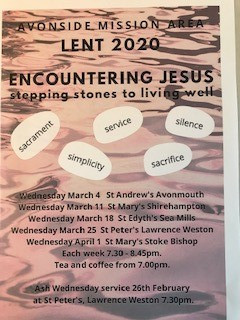 Avonside mission area lent 2020