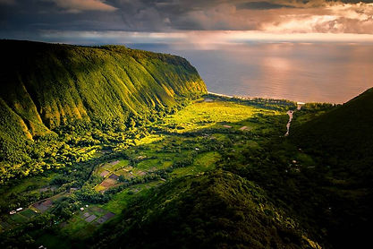 Awesome View of Waipi'o Valley from overlook