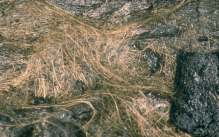volcanic glass hair big island