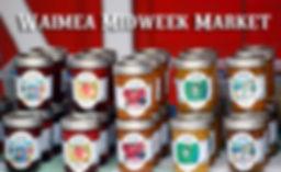 Home-made Jams at Waimea Market