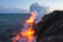 Hawaii volcano by Brian Harig