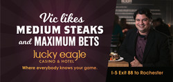 Lucky Eagle: Vic Billboard