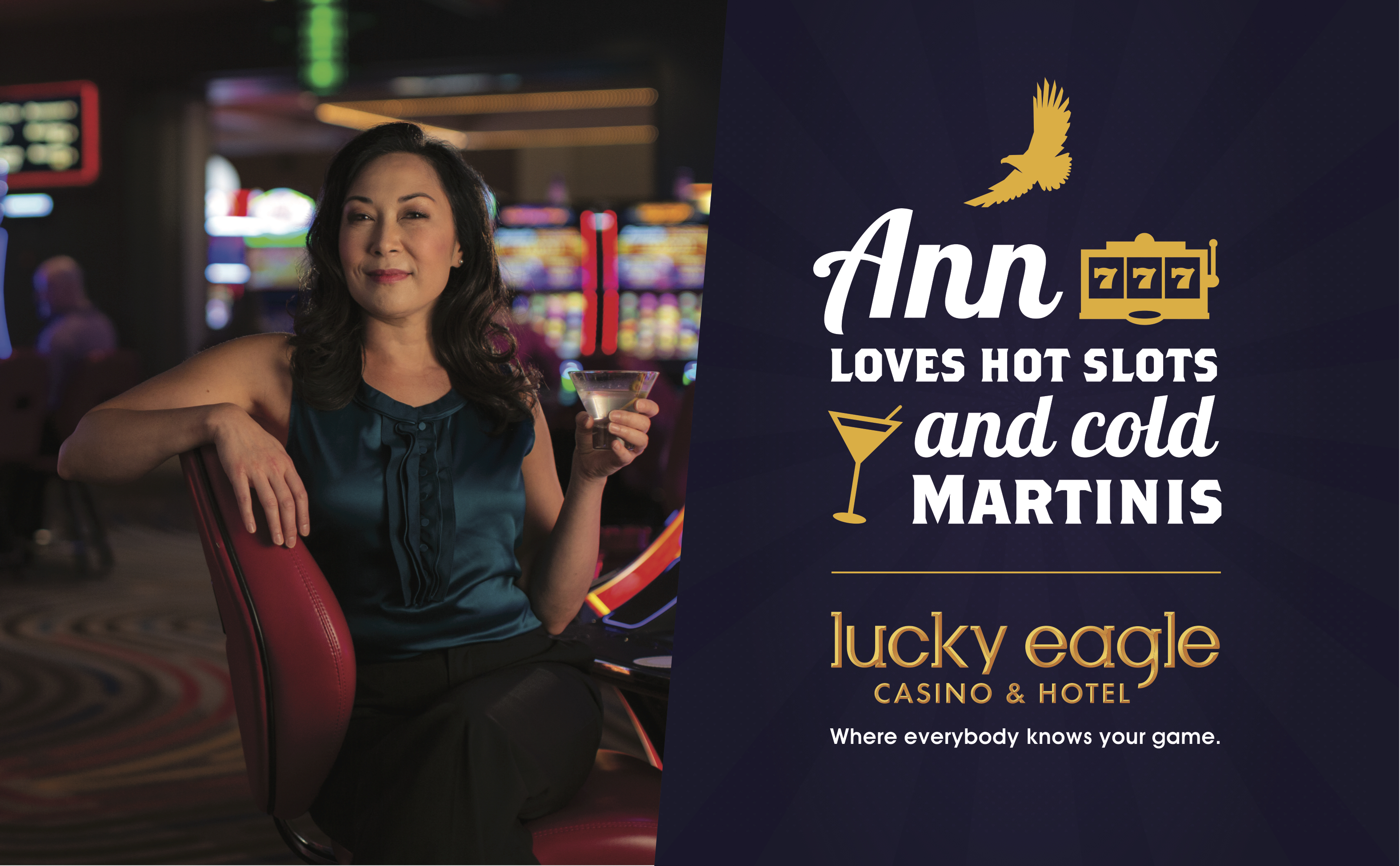 Lucky Eagle Casino: Ann Print Ad