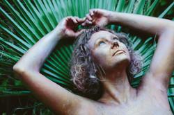 Rebecca with Palm Fern 2021
