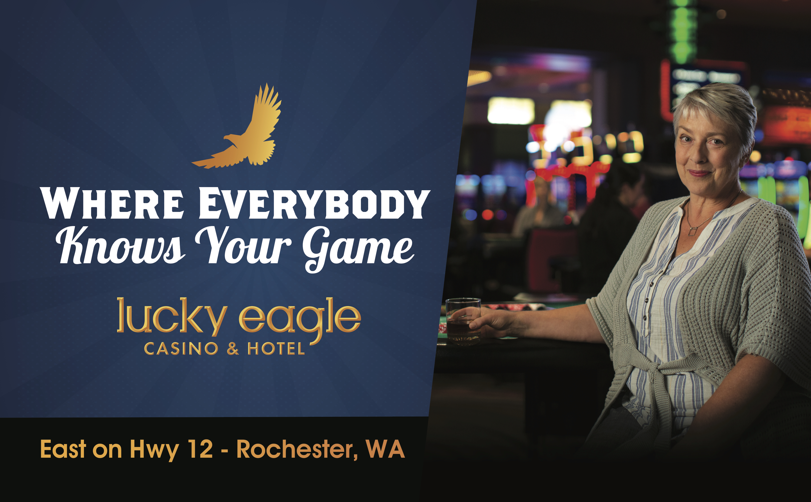 Lucky Eagle: Rose Billboard