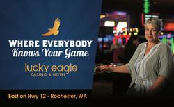 Lucky Eagle: Rose Billboard