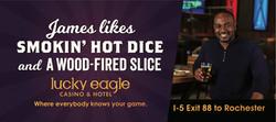 Lucky Eagle: James Billboard