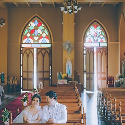 Ning & Arm : Church Wedding Ceremony