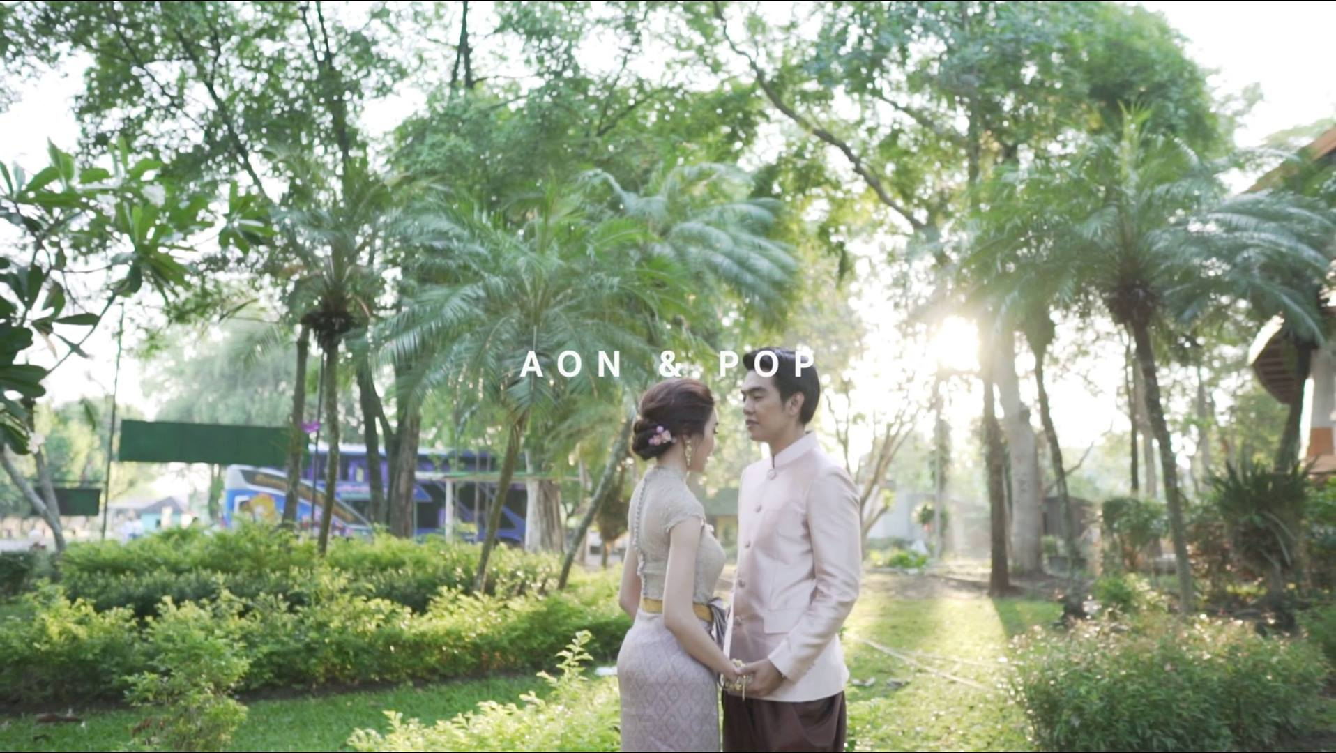 AON & POP WEDDING's Engagement CINEMATOGRAPHY (Same day edit)