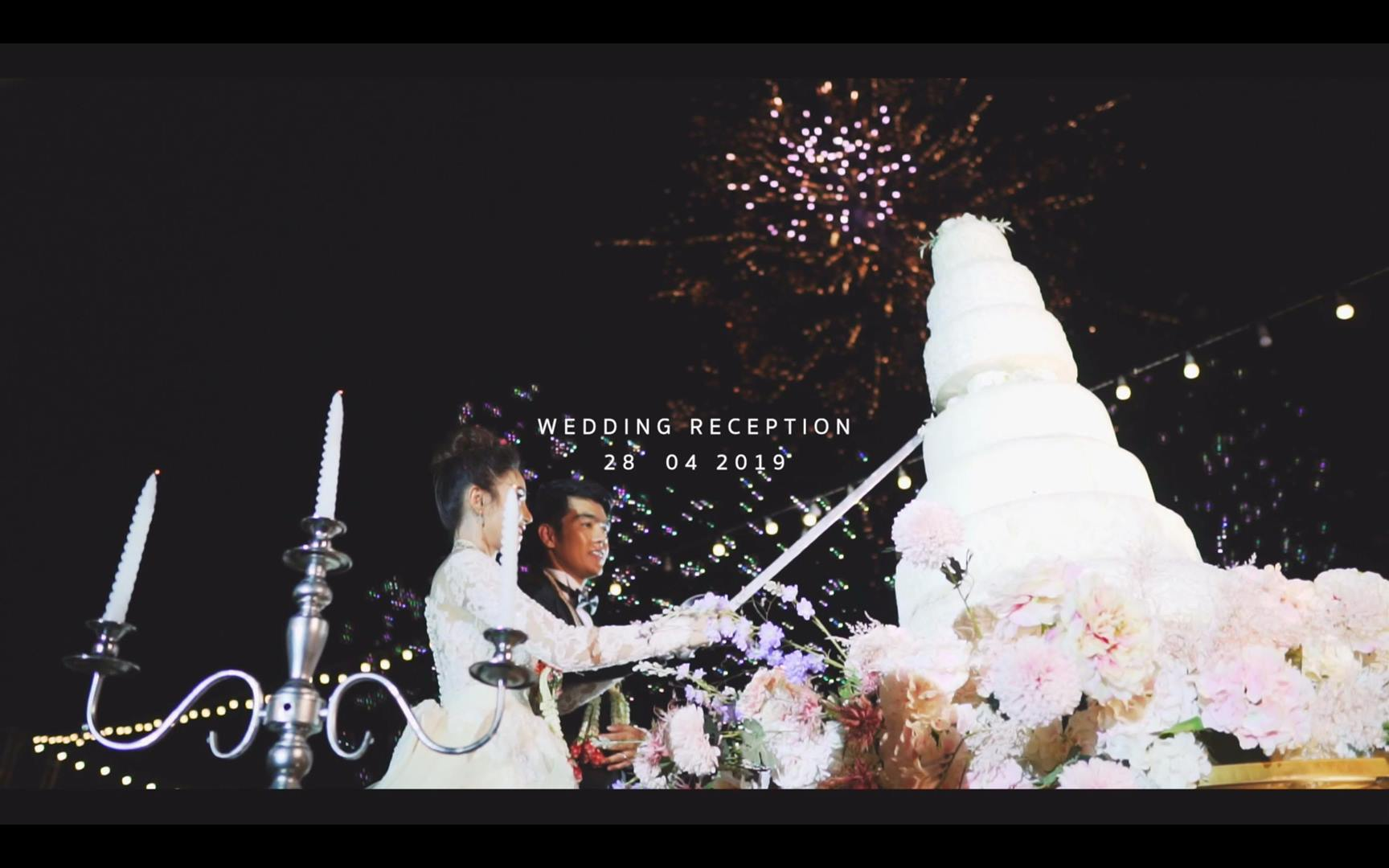 AON & POP WEDDING's Reception CINEMATOGRAPHY
