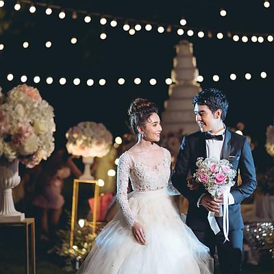 AON & POP WEDDING's Reception