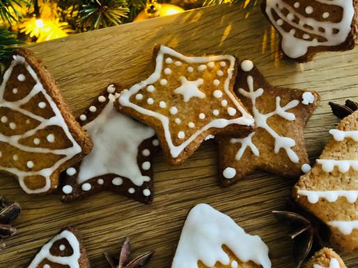 Imbieriniai keto sausainiai