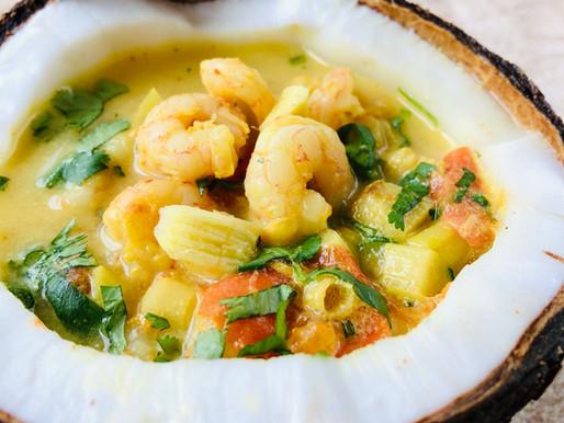 Tailandietiška sriuba (keto)