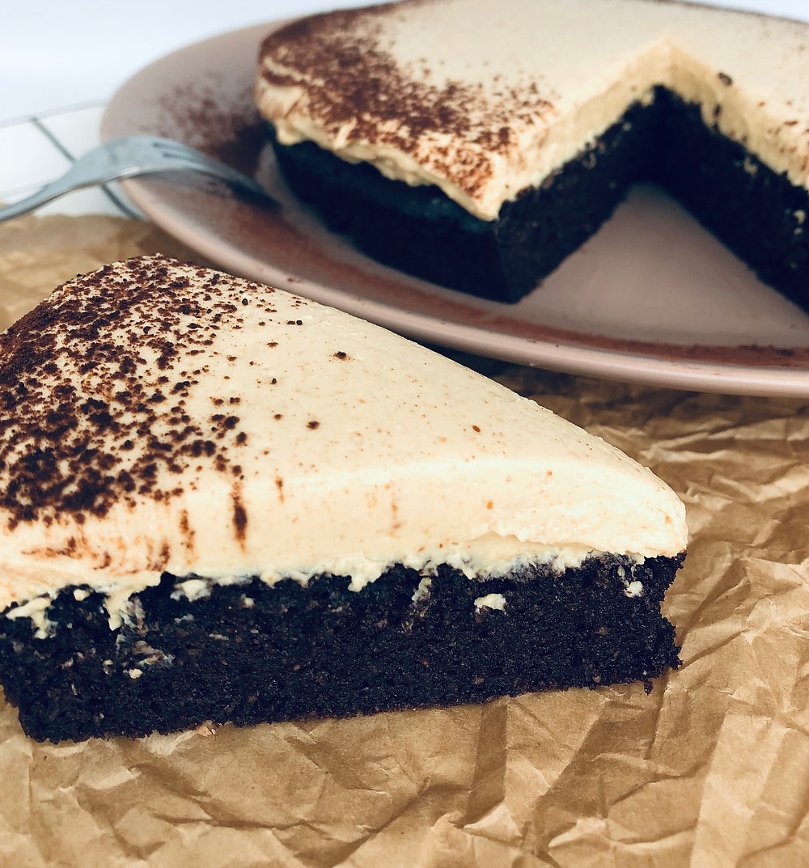 Keto šokoladinis pyragas