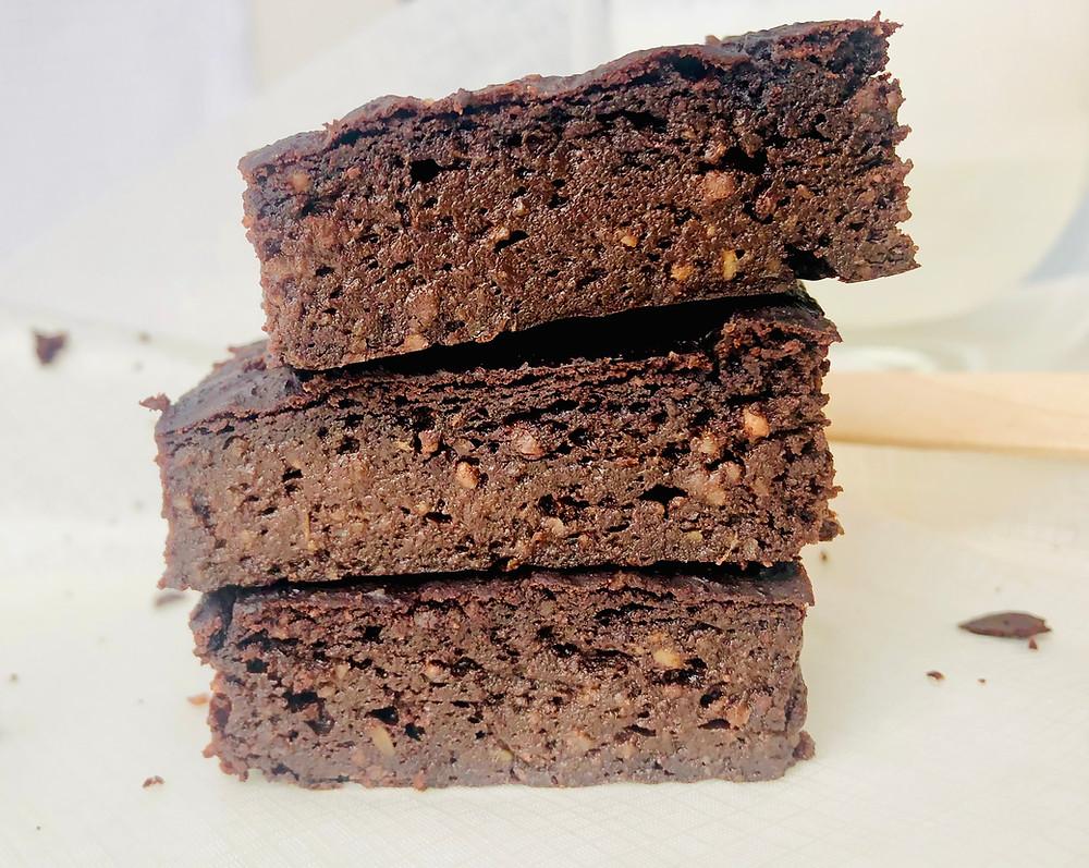 Keto šokoladainis (brownie)