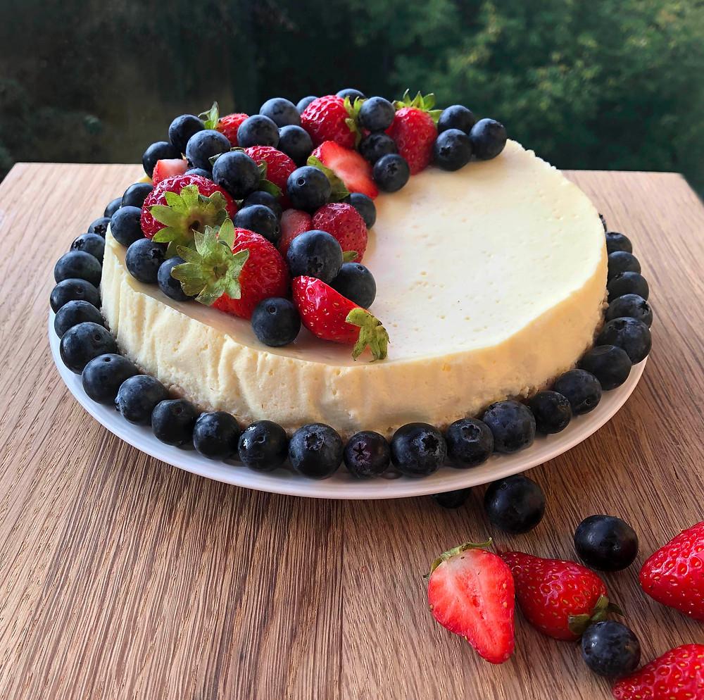 Keto sūrio tortas