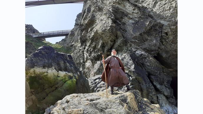 Merlin at Tintagel Castle