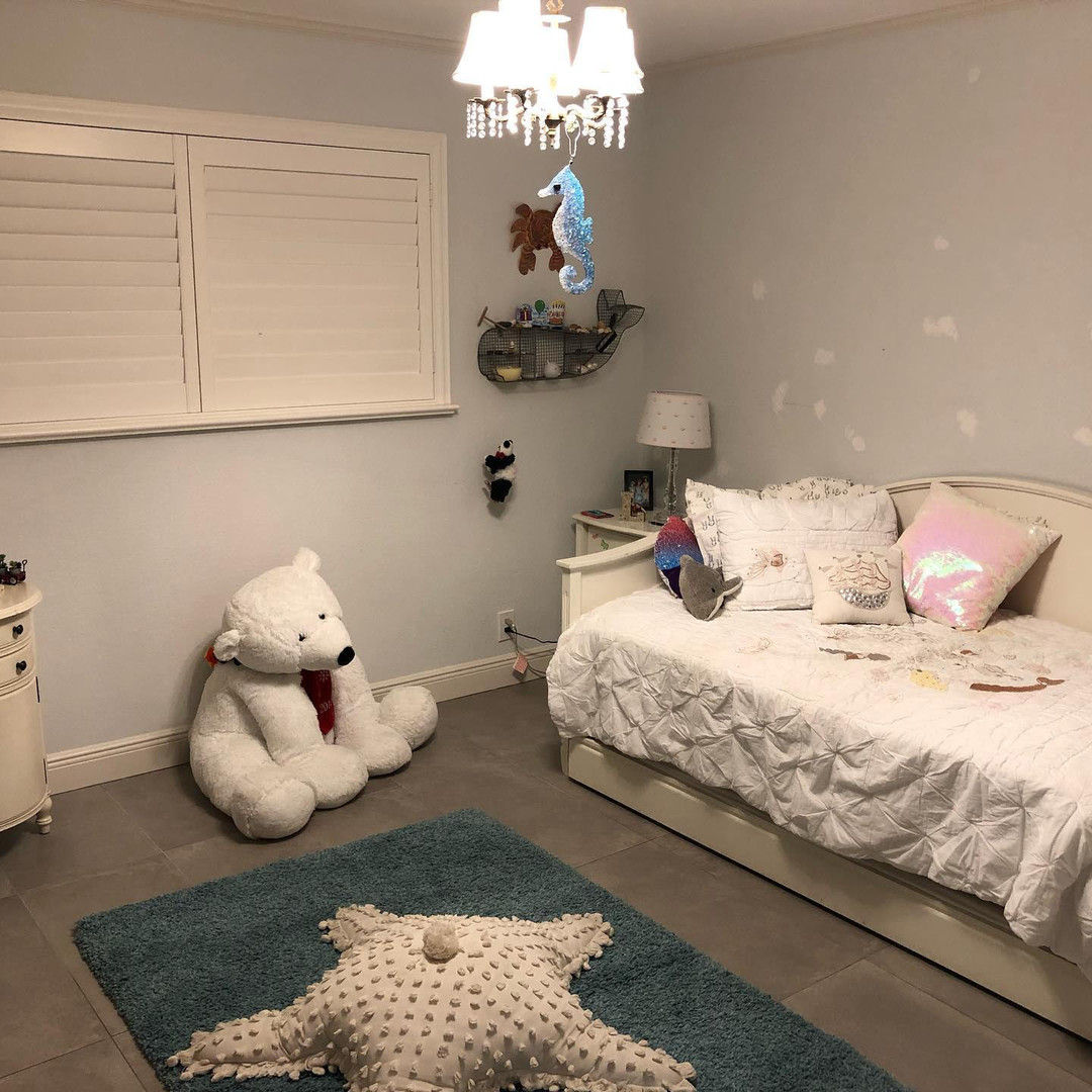 After Girl's Bedroom