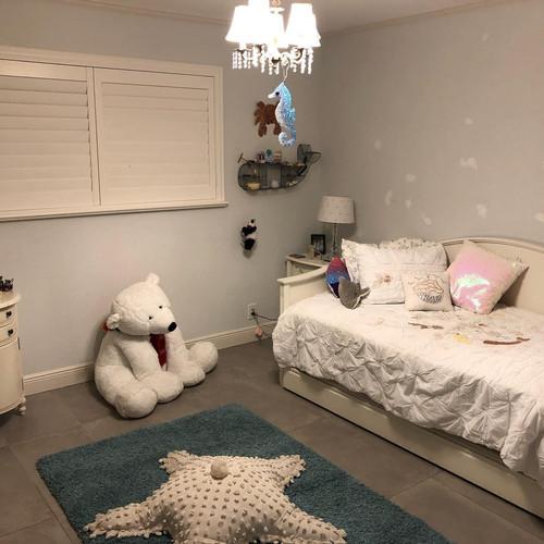 After Girl's Bedroom