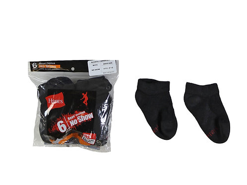 Boys Low Cut Socks - Black