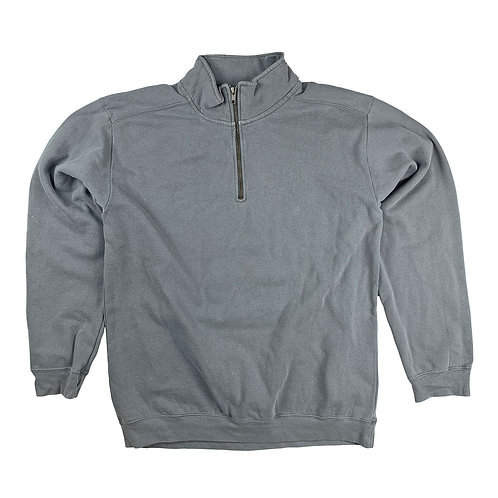 Mens 1/4 Zip Sweatshirts- Grey