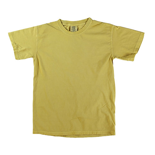 Comfort Color T's - Mustard