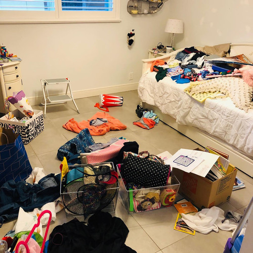 Before Girl's Bedroom