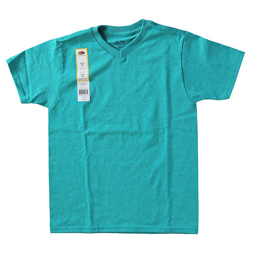 Boys V-Neck Tees - Sea Jade