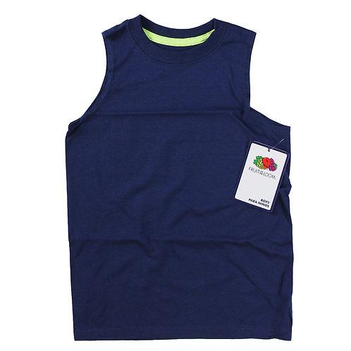 Boy Muscle Shirt - Deep Cobalt