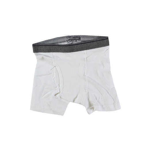 Boys White Boxer Briefs