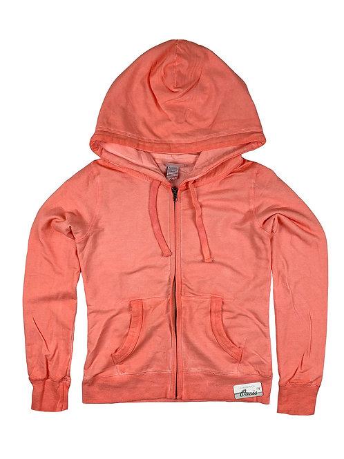 Womens Oasis Wash Zip Hood
