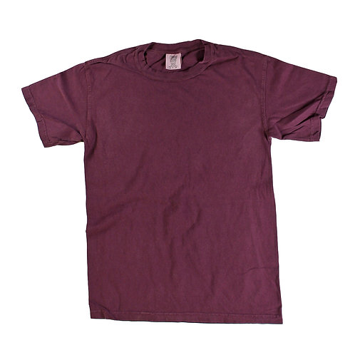 Comfort Color T's - Burgundy