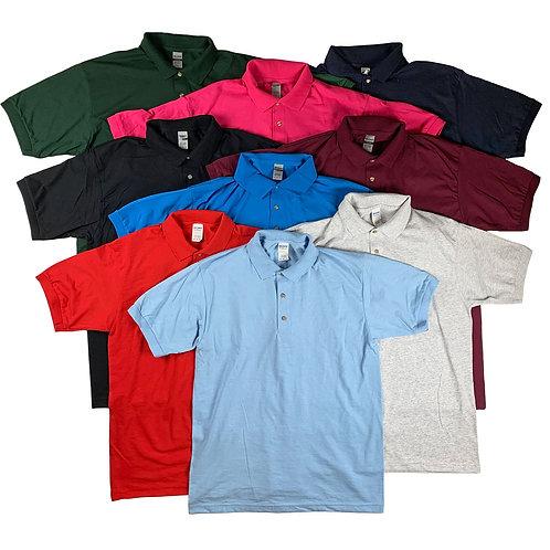Mens Jersey Knit Sport Shirts Mix